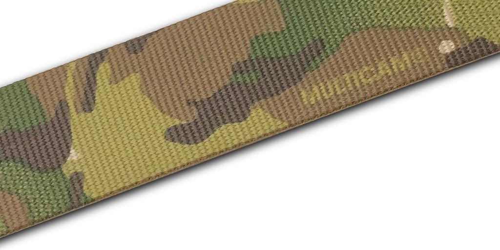 MultiCam® Belt Webbing Now in Production