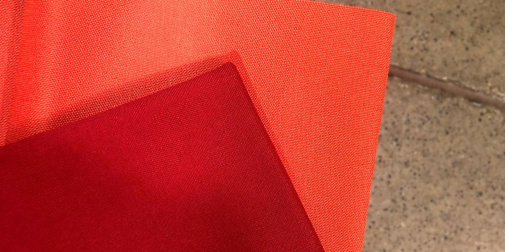 Now Available: 1000D CORDURA® Nylon in Orange & Red