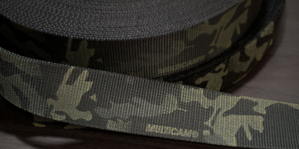 Now Stocking MultiCam® Belt Webbing!