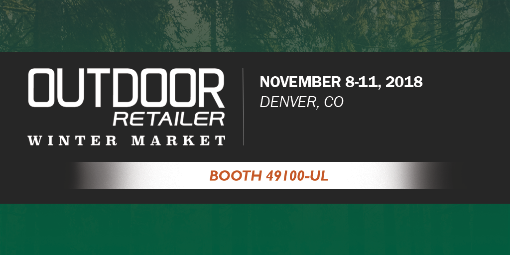 Come See Us at Outdoor Retailer Winter Market!