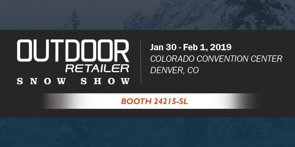 Come see us at Outdoor Retailer Snow Show!