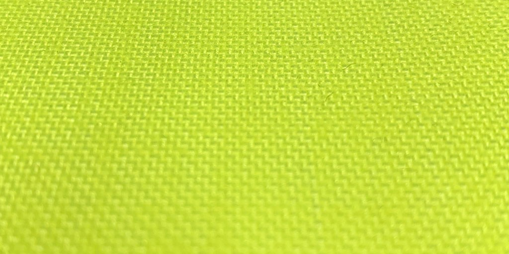 Now Available: 1000D Fluorescent Yellow Nylon
